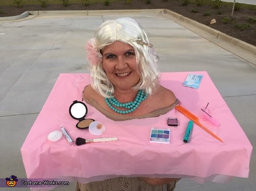 Barbie Makeup Head Costume