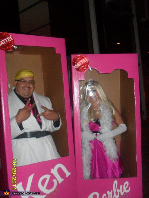 Barbie and Ken in the box, Barbie and Ken in the Box Costumes