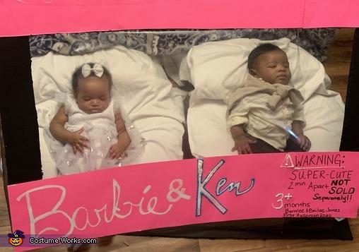 Barbie & Ken Baby Edition Homemade Costume