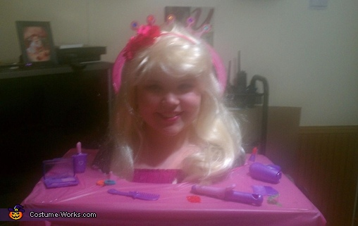 Barbie Styling Head Costume