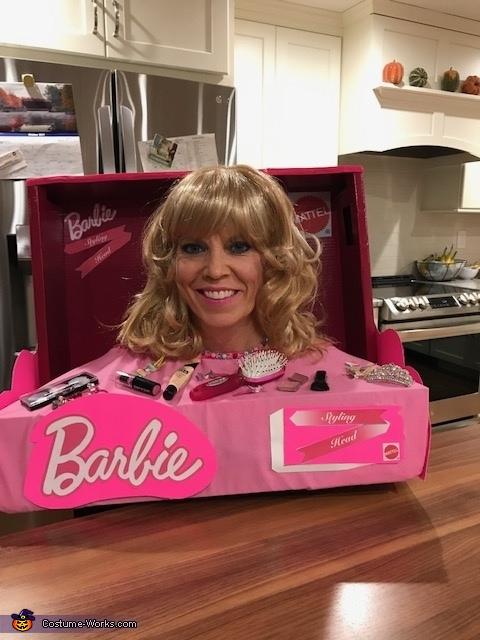 Barbie Styling Head Costume