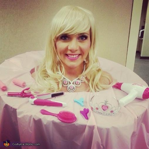 Strange Barbie Styling Head Diy Costume Short Hairstyles Gunalazisus