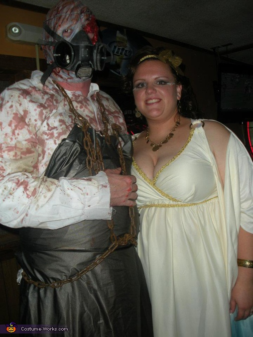 Baron of Hell and The Goddess Couple Costume