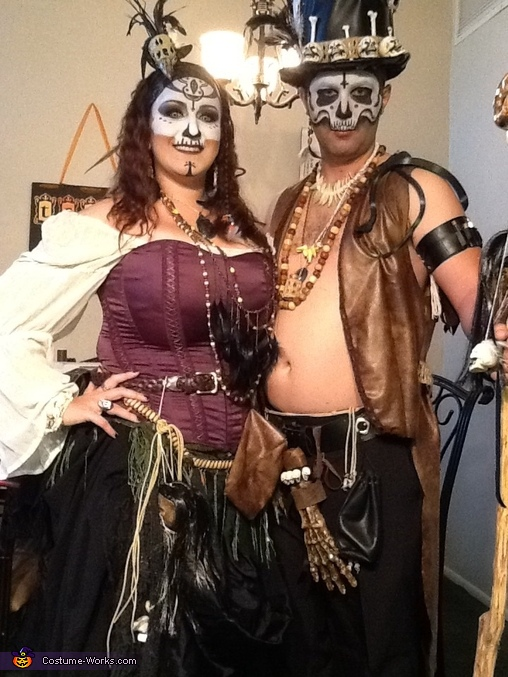 Voodoo Baron Samedi and Madame Brigitte Costume