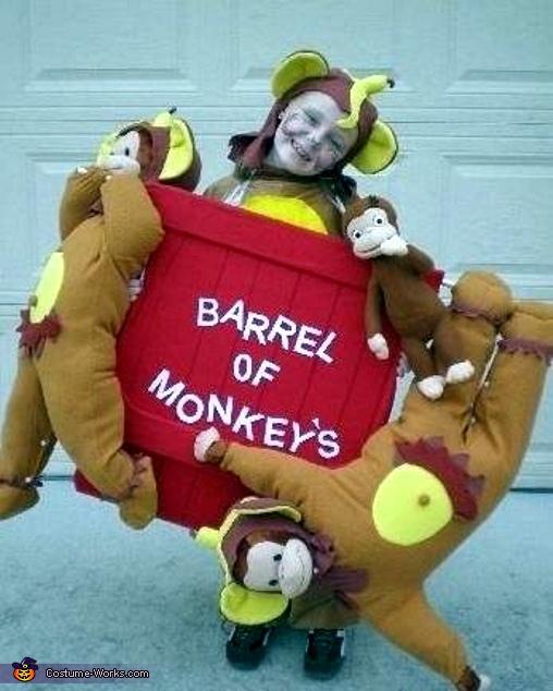 Barrel of Monkeys Costume