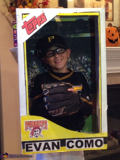 Baseball Card Costume