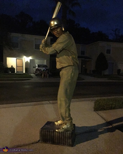 Baseball Trophy Costume