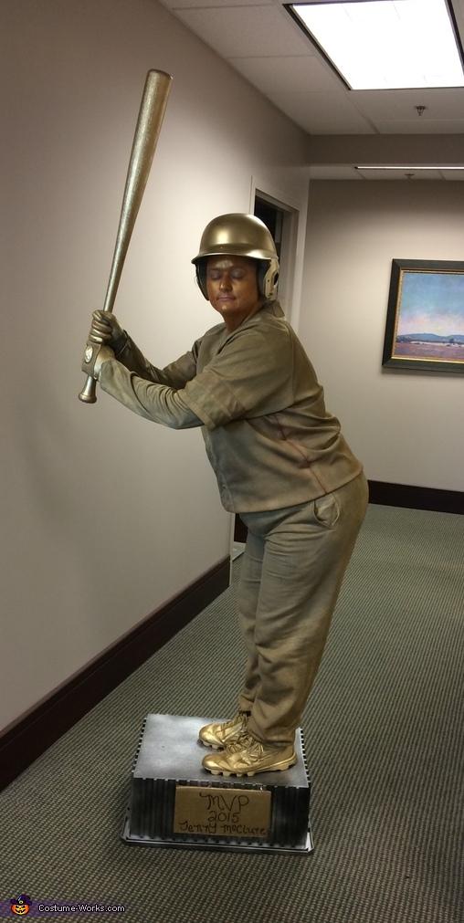 Baseball Trophy Costume