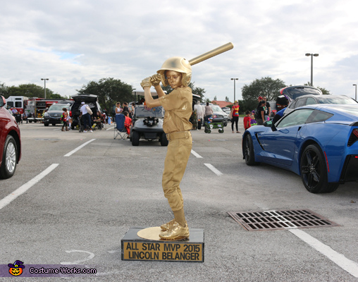 Baseball Trophy Homemade Costume