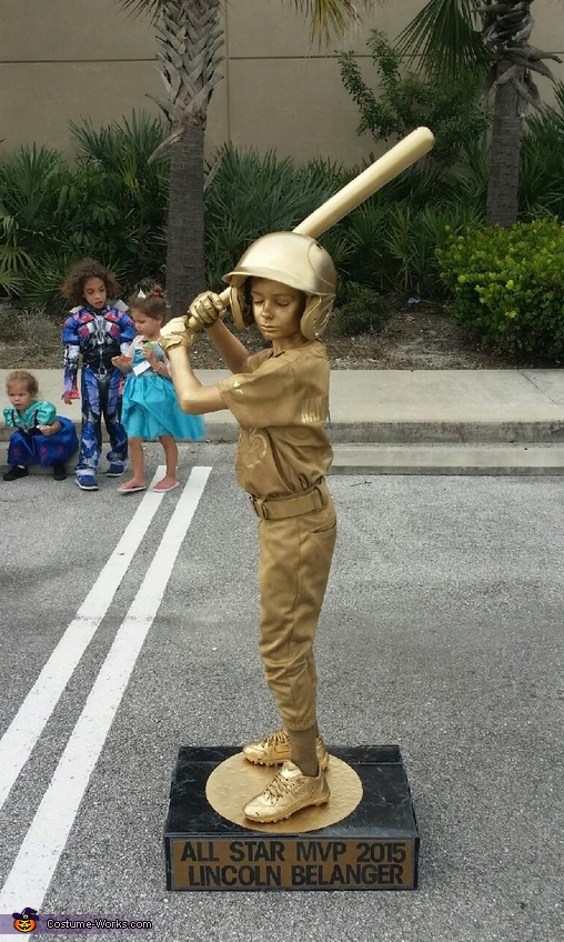 Baseball Trophy Boy S Homemade Costume