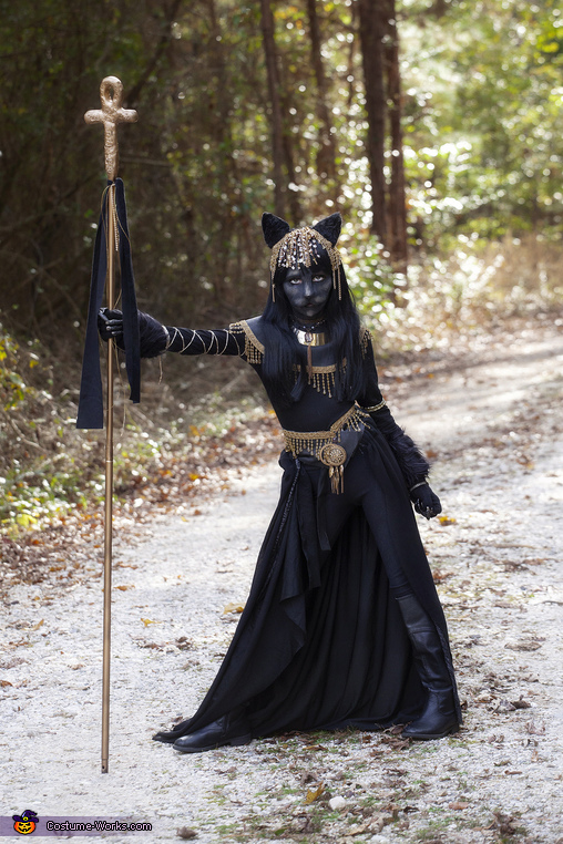 Bastet Egyptian Goddess Costume