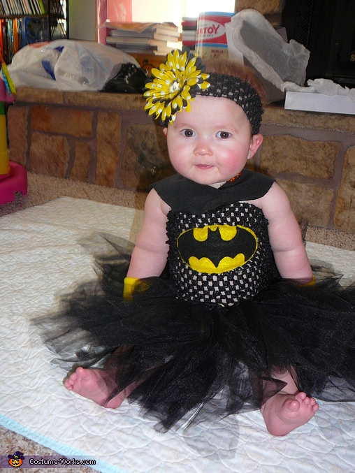 DIY Bat-Girl Costume for Babies