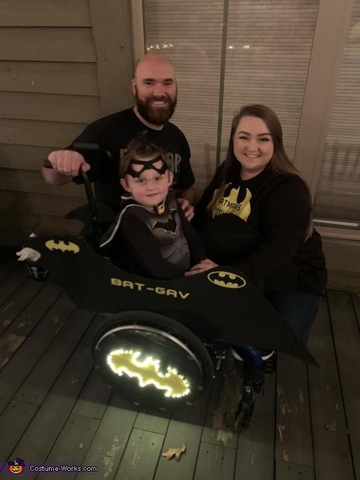 Bat-Gav Homemade Costume