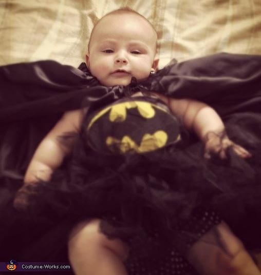 Bat Girl Baby Costume
