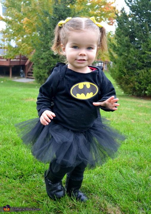 Batgirl Homemade Costume