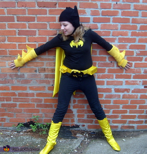 Ready for action!, Batgirl Costume