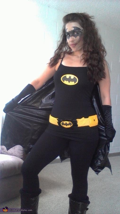 Bagirl3 Batgirl Costume & Homemade Batgirl Adult Costume - Photo 3/3