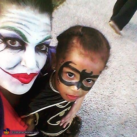 Batgirl and Joker Costume