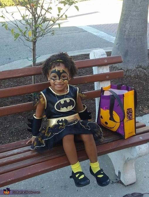 Batgirl and Joker Homemade Costume