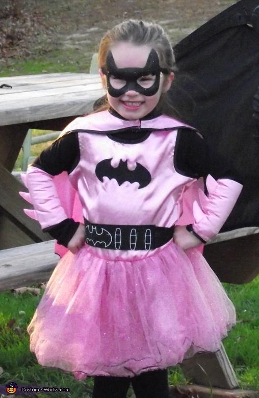 Batgirl and Pansy Costume