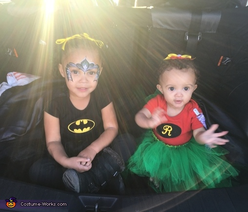 Batgirl and Robin Costume