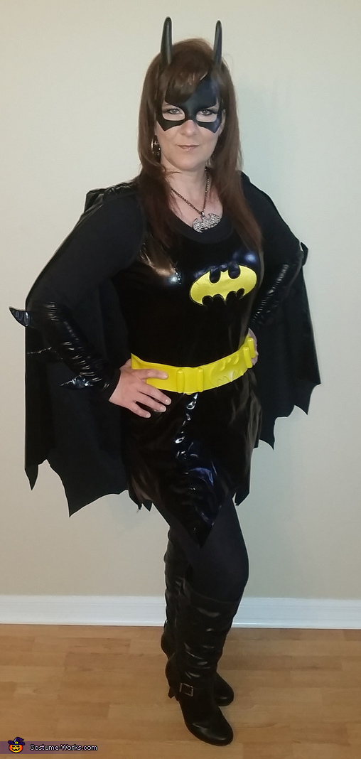 Batgirl & Lego Batman Homemade Costume