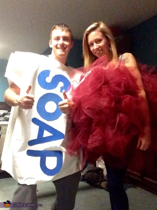 Loofah lady and Silly Soap , Bathtime Fun Family Costume
