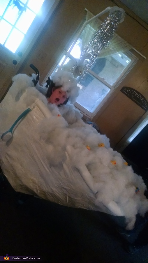 Bathtub Homemade Costume