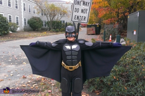 Boy's Batman Costume
