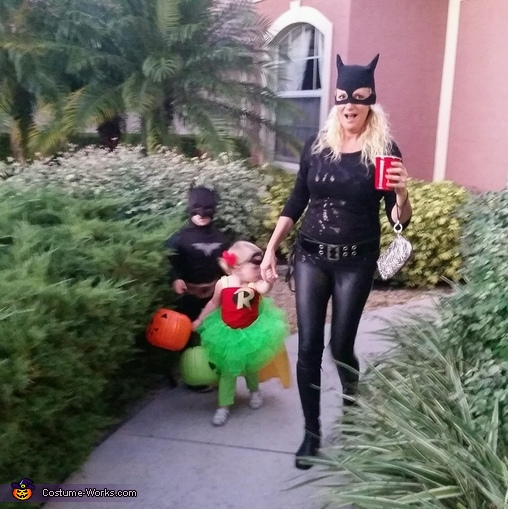 Creative Batman Family Costume