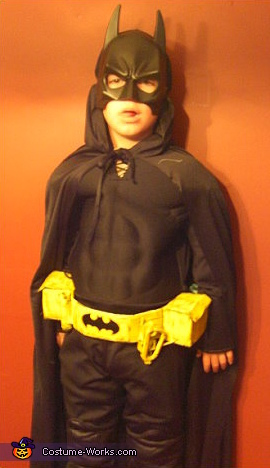 Batman with Batcycle Costume