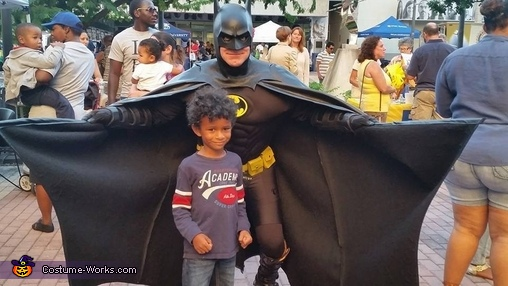 Nervous., Batman Costume