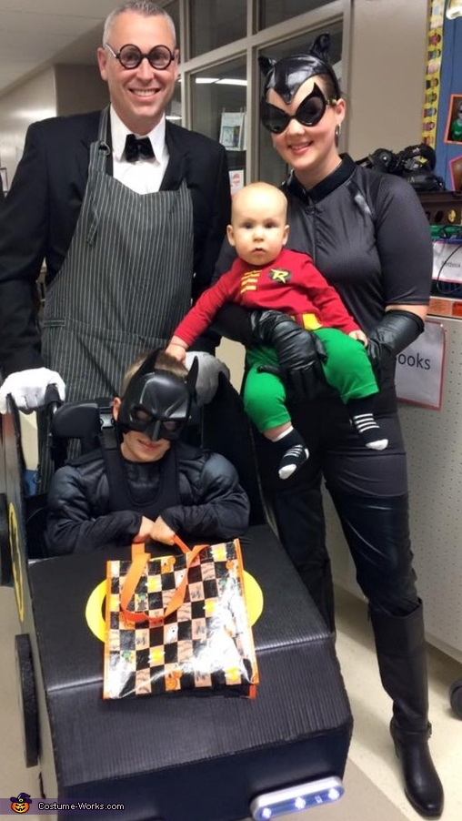 Batman and Crew Costume