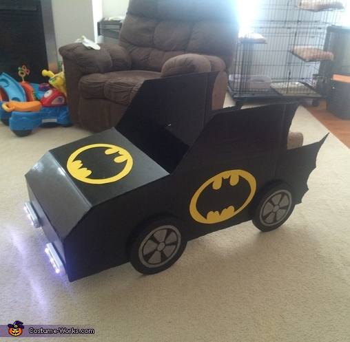 Batman and Crew Homemade Costume