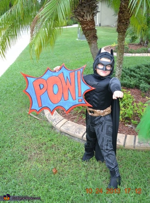 Joey as Batman, Batman and Robin Kids Costume