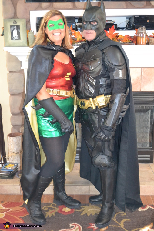 Batman and Robin Costume  sc 1 st  Costume Works & Coupleu0027s Batman and Robin Costume