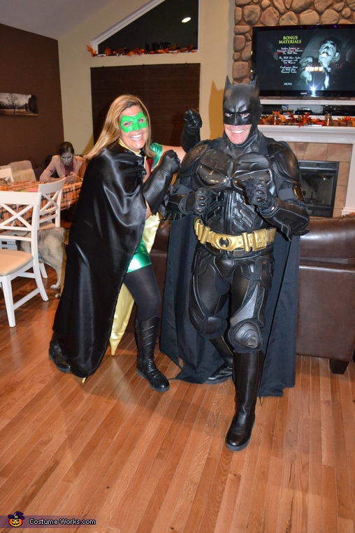 Ready for Action!, Batman and Robin Costume