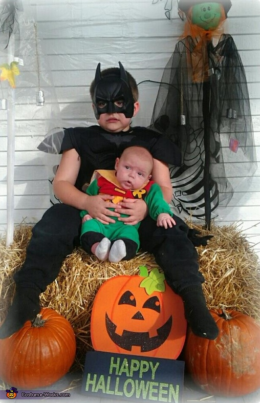 Batman and Robin Costume