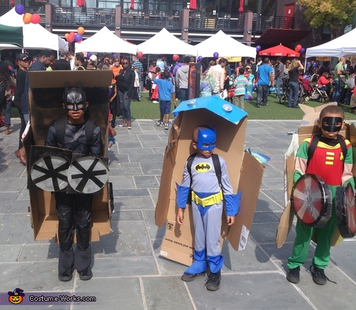 Batman and Robin Transformers Costume