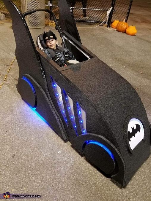 Batman and The Batmobile Costume