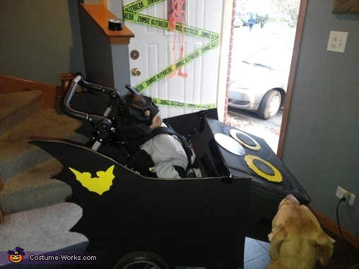 Batman and the Dre Mobile Costume