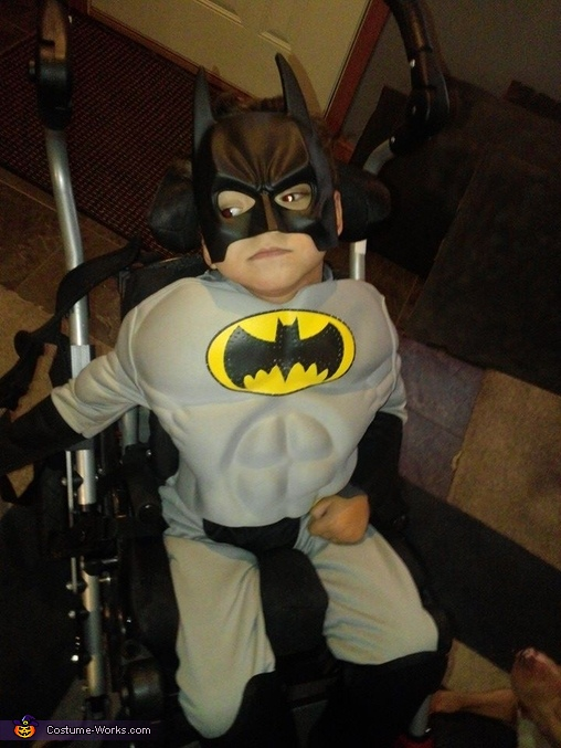 Batman and the Dre Mobile Homemade Costume