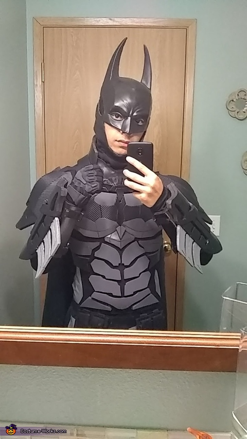 Mirror selfie!, Batman Arkham Knight Costume