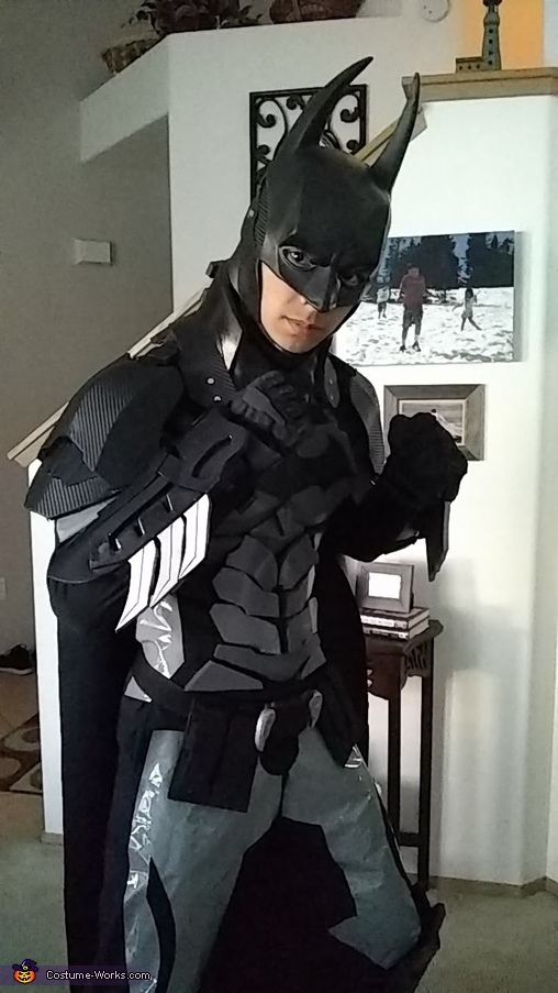 Ready to fight crime, Batman Arkham Knight Costume