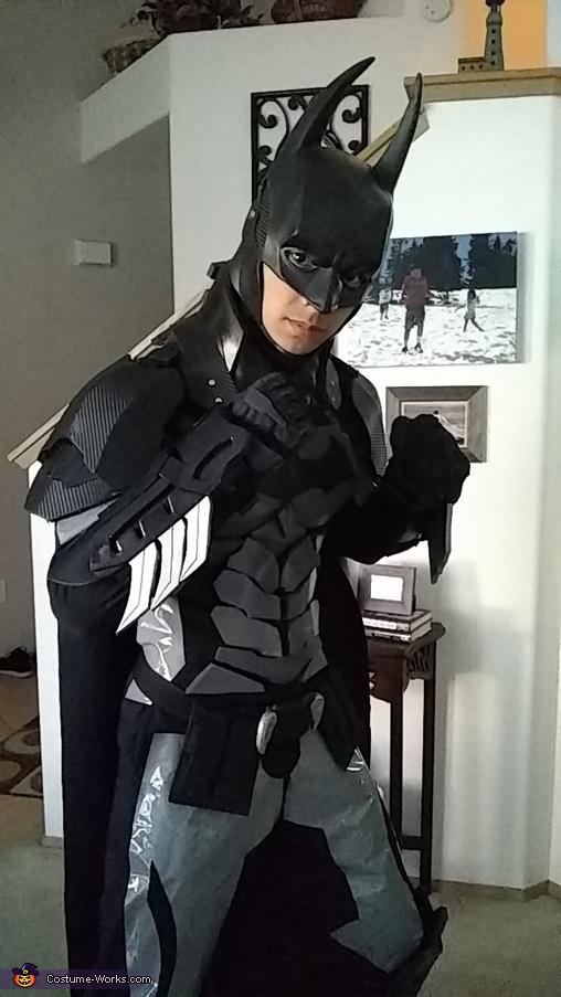 Ready to fight crime, Batman Arkham Knight Costume
