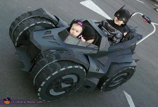 Batman, Batgirl & the Arkham Knight Batmobile Costume