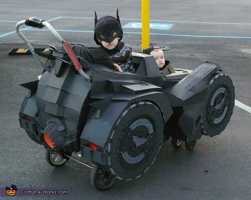 Batman, Batgirl & the Arkham Knight Batmobile Homemade Costume