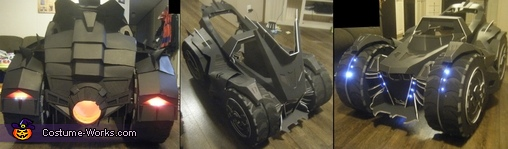Batman, Batgirl & the Arkham Knight Batmobile Homemade Costume