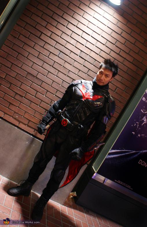 Batman Beyond Homemade Costume