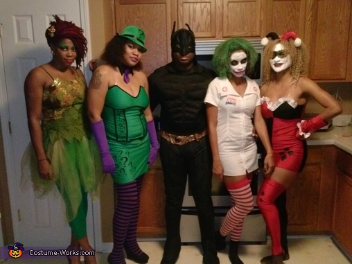 Batman Crew Costume